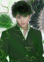 зелёный демон