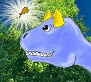 Кавайный динозаврик)^_^
