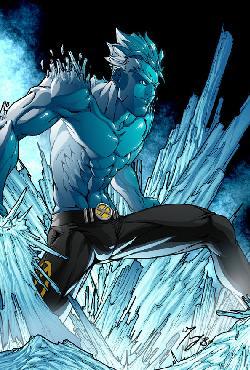 Человек-лёд