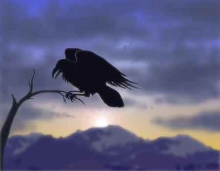 Ворон - Посланец Темных