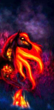 Огонь лунного света