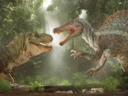 Дядющка спинозавр