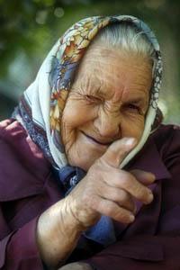 Бабка Глаша