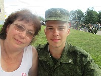 Юлия,мама Андрея