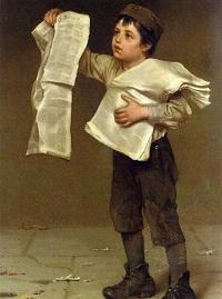 Газетчик Льюис