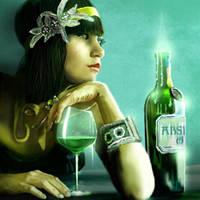 Абсент Зеленая фея
