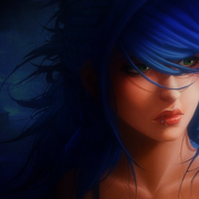 Blue hime