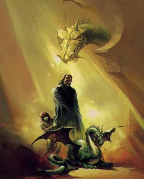 Дракон Чертополох