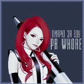 PR-whore