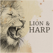 Lion and Harp